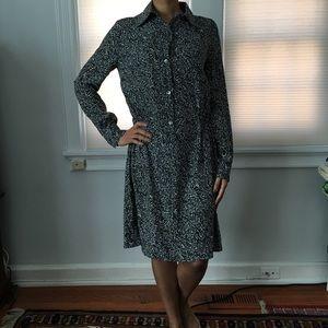 Dresses & Skirts - ◻️▪️B&W Print Shirtdress ▪️◻️